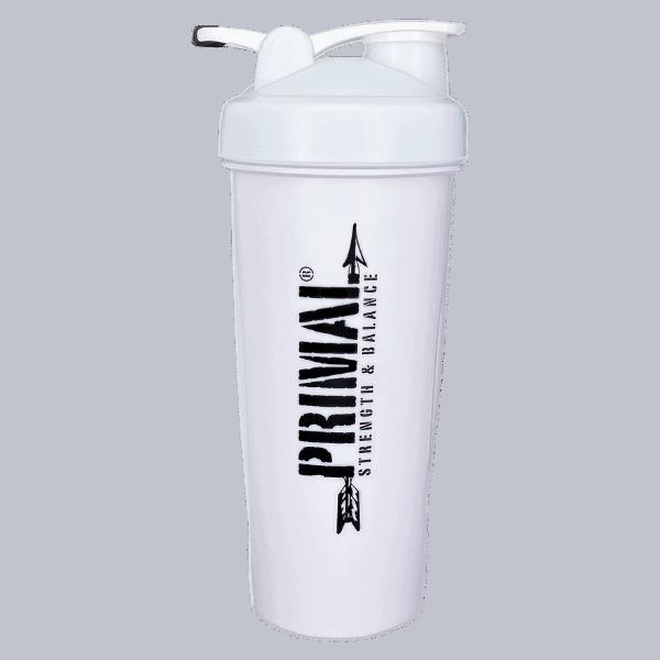 White Primal Shaker Bottle