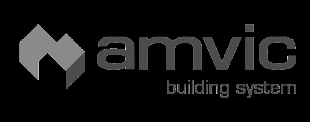Amvic Logo - Lockington Homes (B&W)