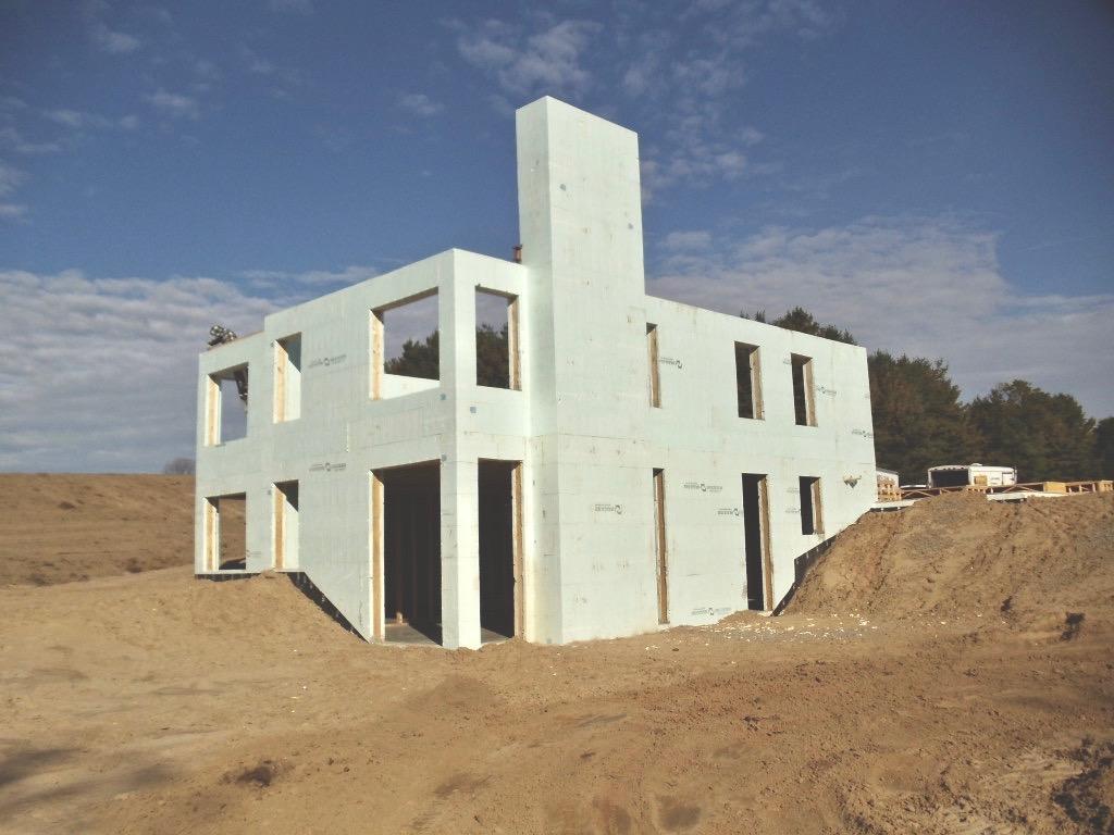 Above Grade Shell - Lockington Homes