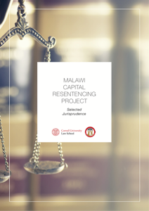 Front cover of Malawi Capital Resentencing Project.