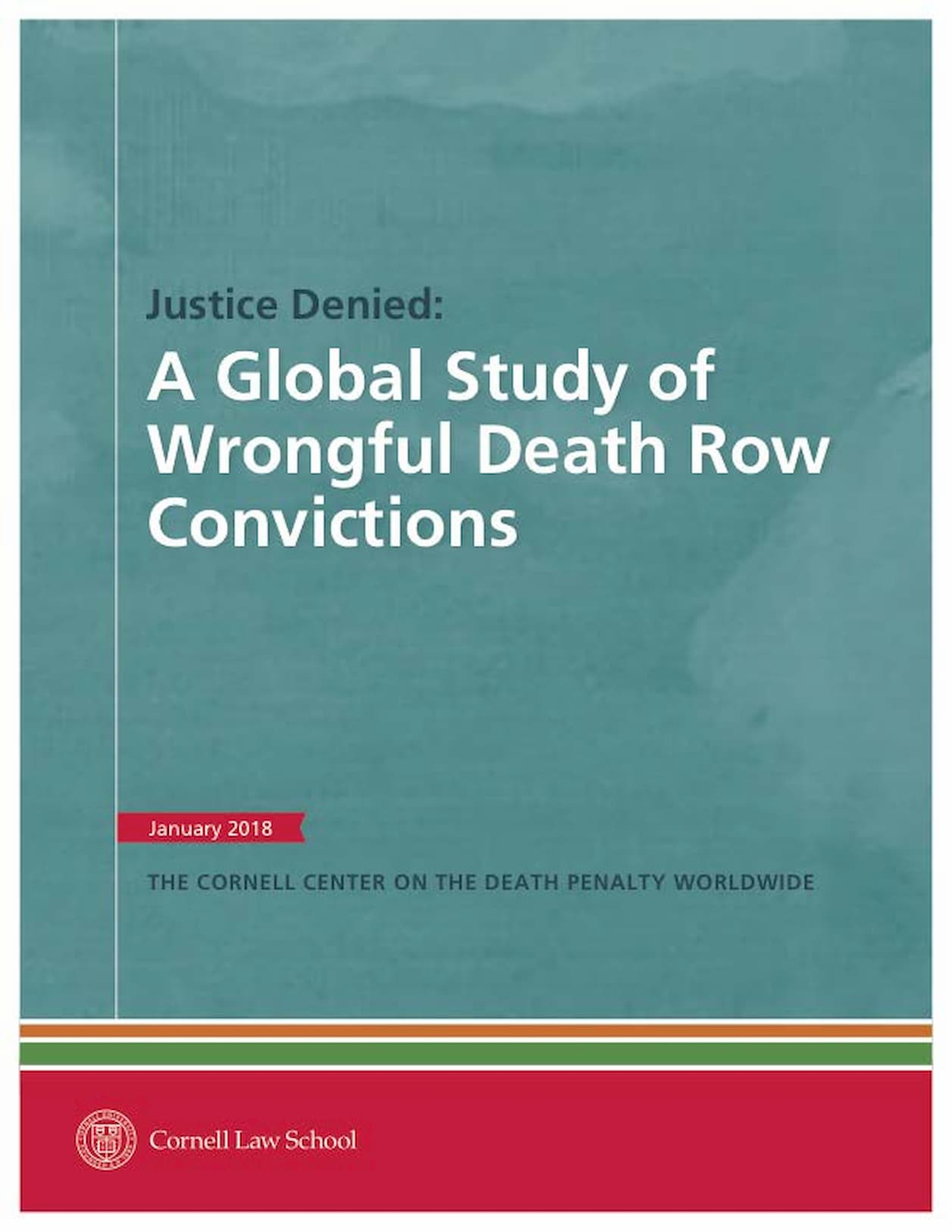 Justice-Denied-A-Global-Study-of-Wrongful-Death-Row-Convictions Cover Page