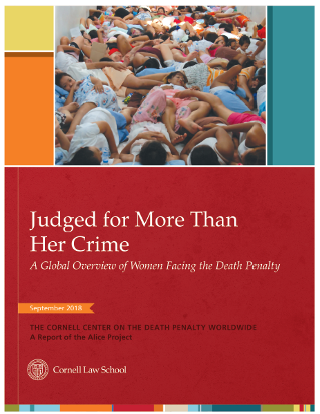 Judged for More Than Her Crime publication cover