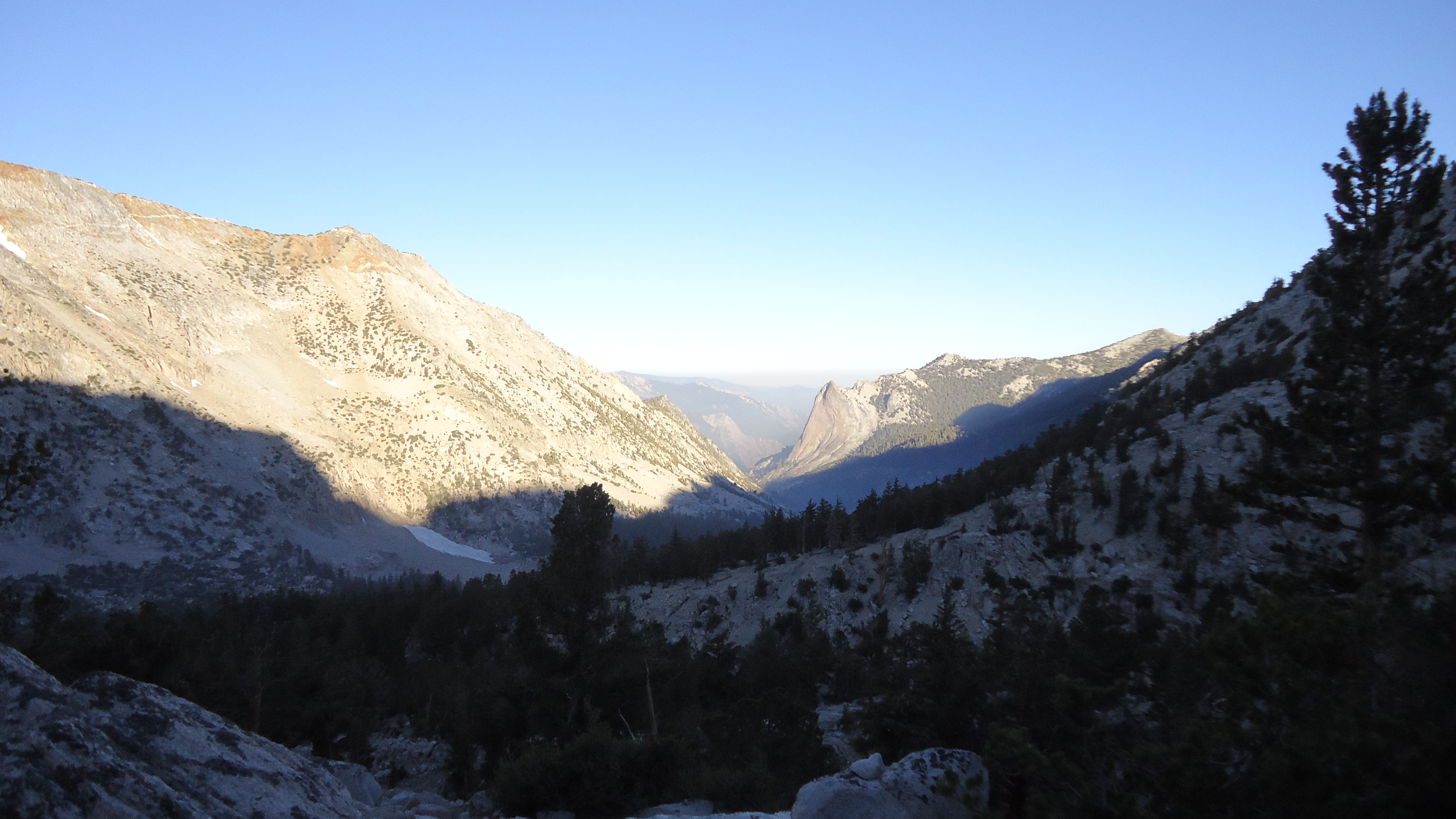 The Valley in Shadow