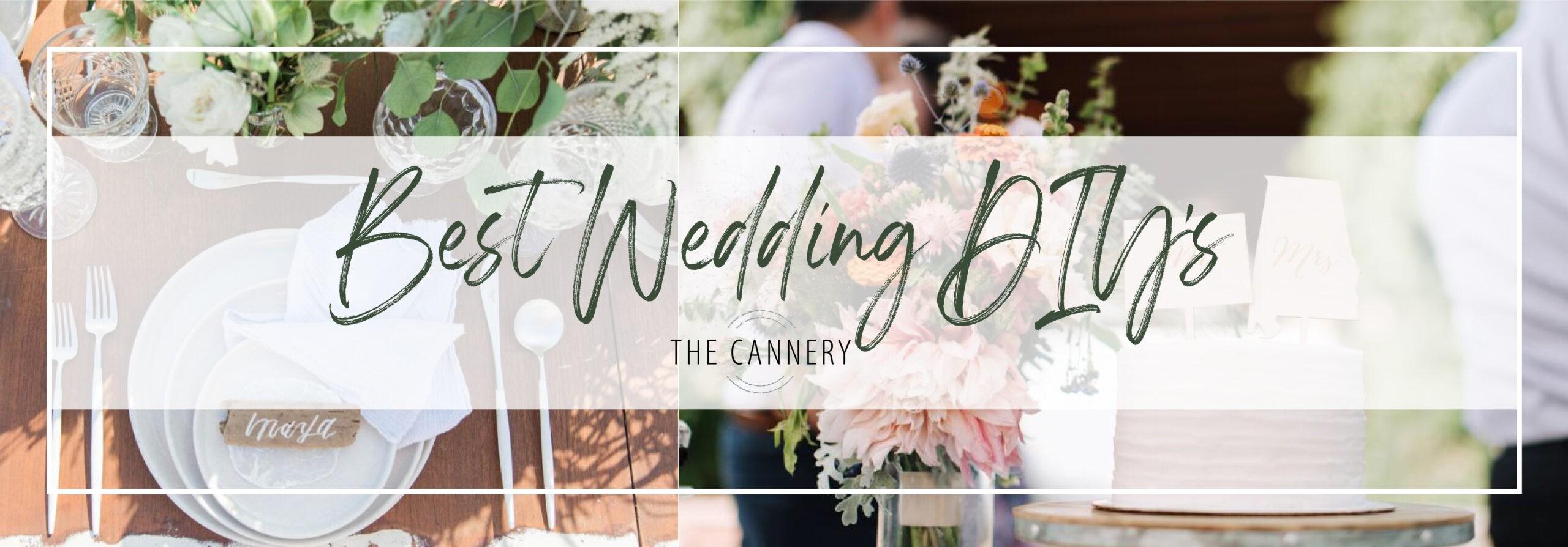 The Best Wedding DIY's