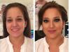 Muse Studios Wedding Bride Hair Makeup Artist Washington DC Virginia Maryland Before and After - 4