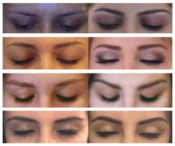 Eyebrows 1 Hair Stylist Makeup Artist Washington DC Virginia Maryland