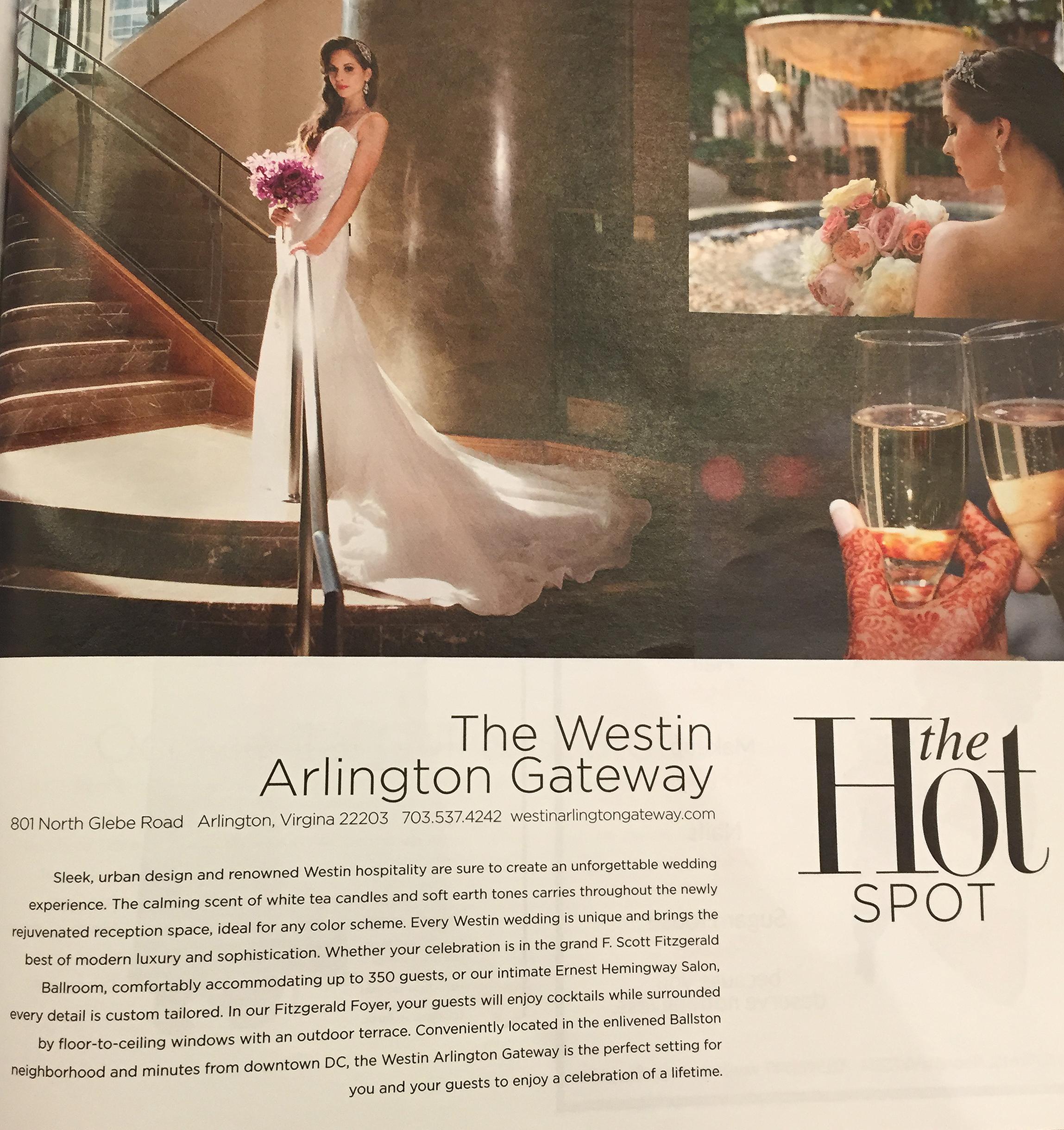 Muse Studios Wedding Bride Hair Makeup Artist Washington DC Virginia Maryland Westin  DC Magazine