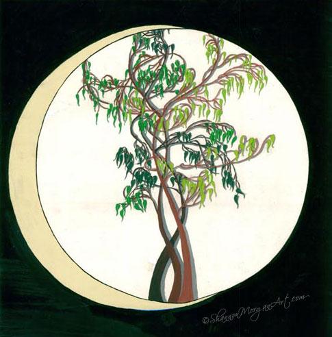 078 Bonsai Moon
