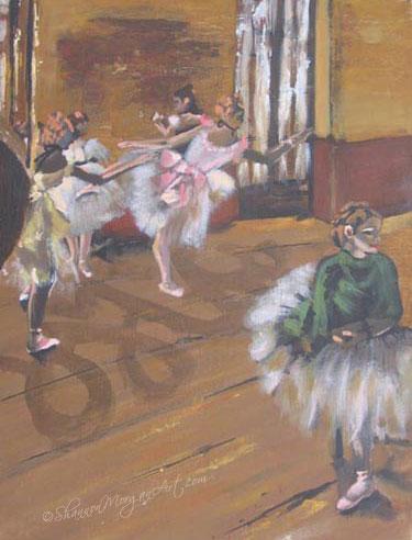 087 Ballet Practice