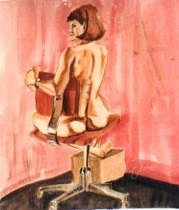 099 Woman in a Chair II