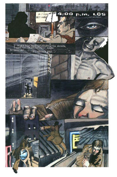 Comic Book A