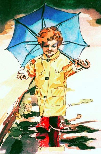 037 It's Raining!