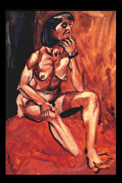 123 Through the Eyes of Picasso (Nude)