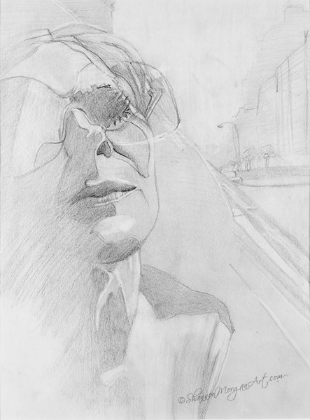 011 Woman with Sunglasses