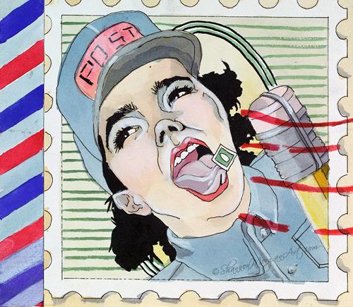 051 Postal Girl
