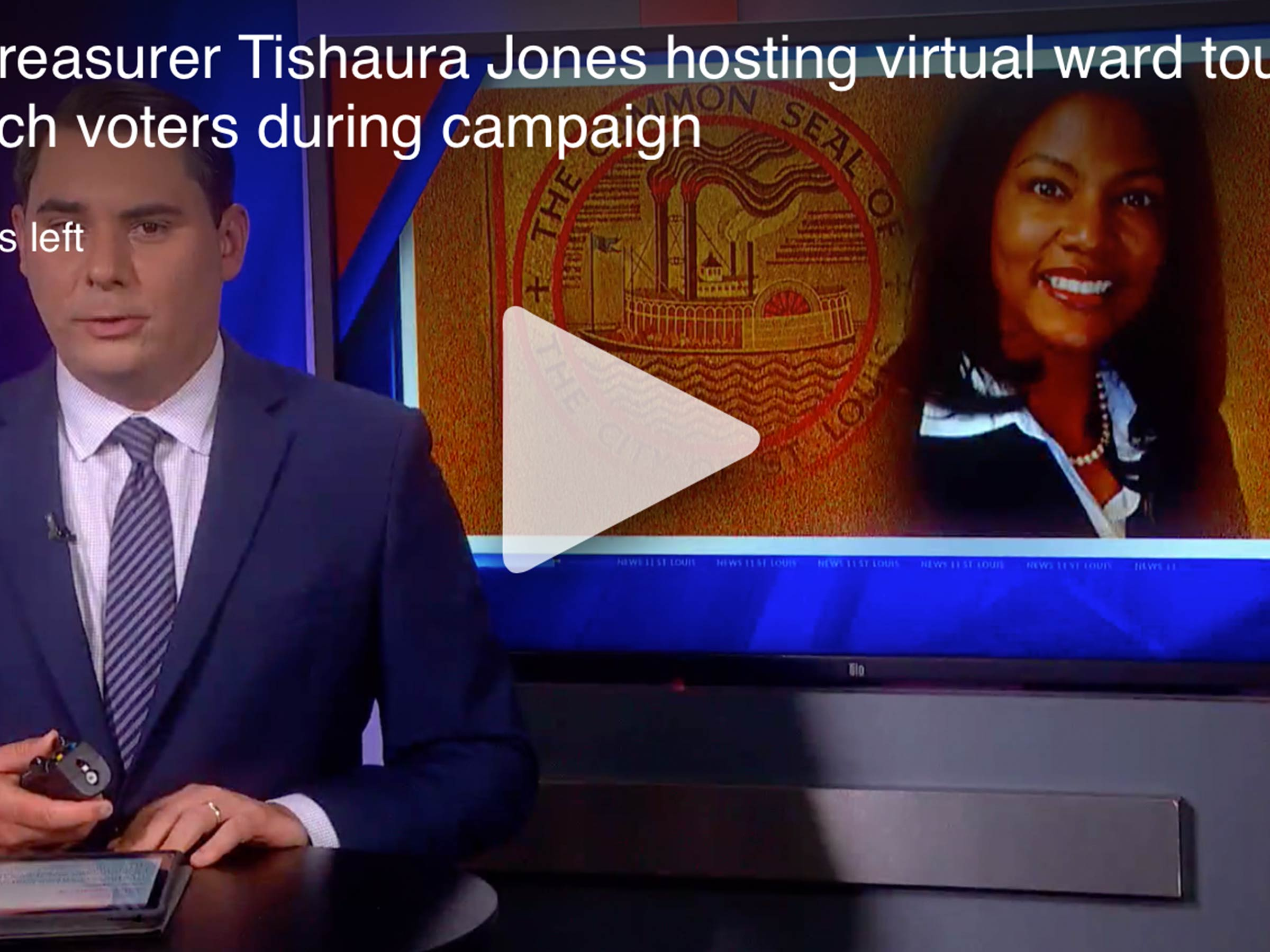 City Treasurer Tishaura Jones hosting virtual ward tours to reach voters during campaign