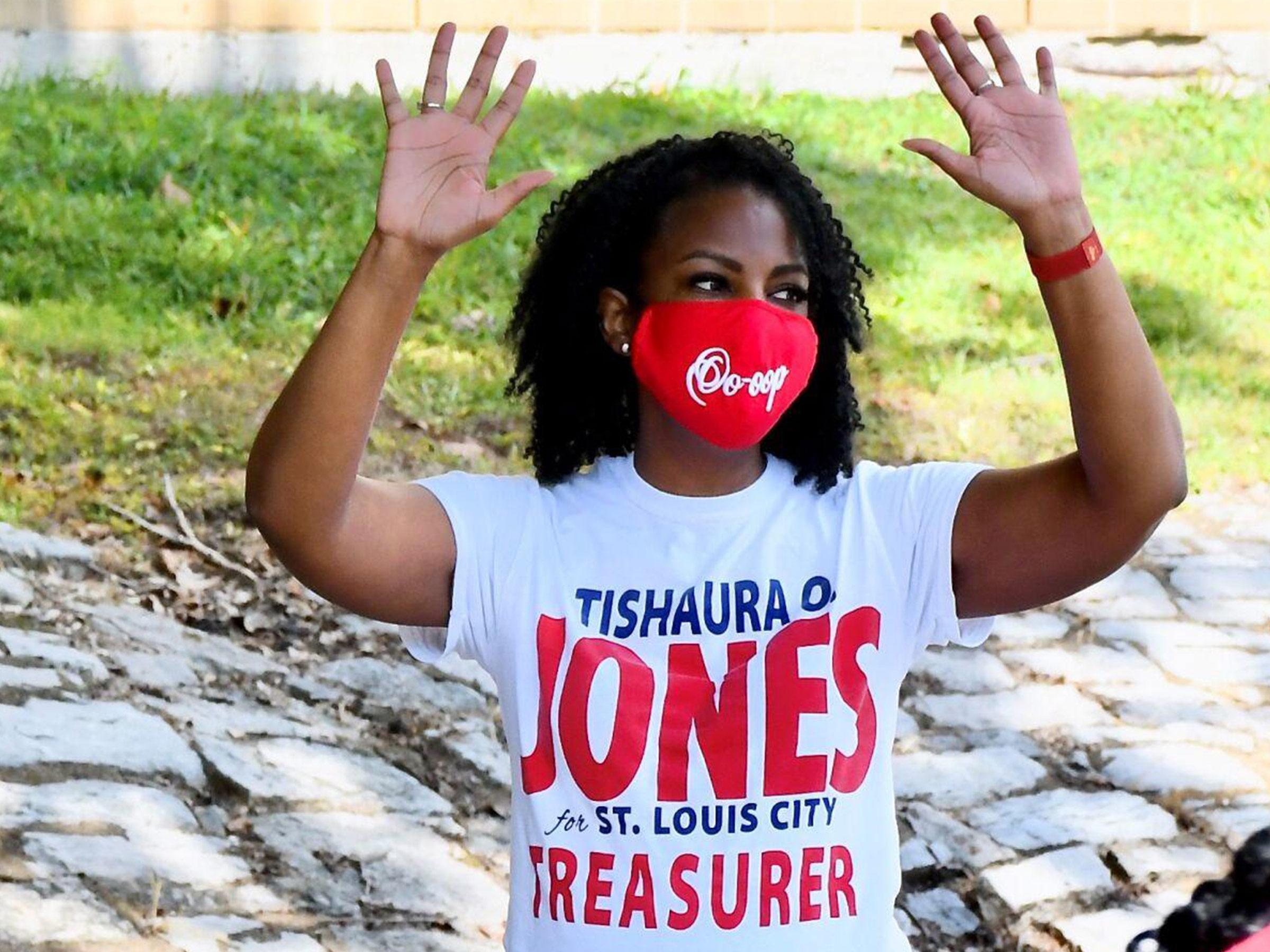 Tishaura O. Jones easily defends seat as St. Louis treasurer