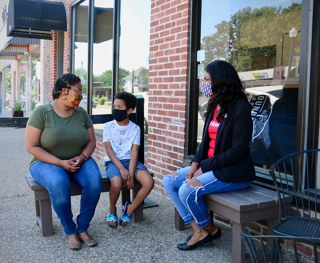 Tishaura Jones for Mayor of St. Louis City talks youth and family services.