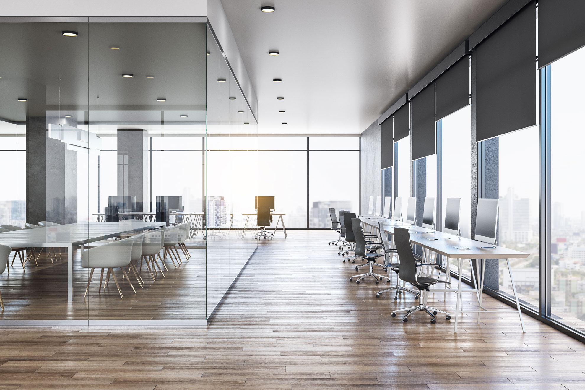 How The View From Your Conference Room Affects Your Day