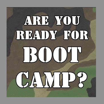 Are you ready for Boot Camp?
