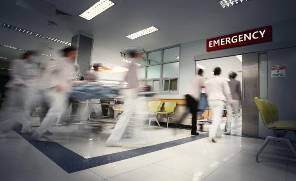 personal injury in emergency room