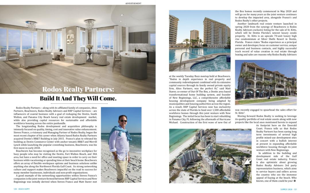 Featured in Beach Happy Magazine (Summer 2020)