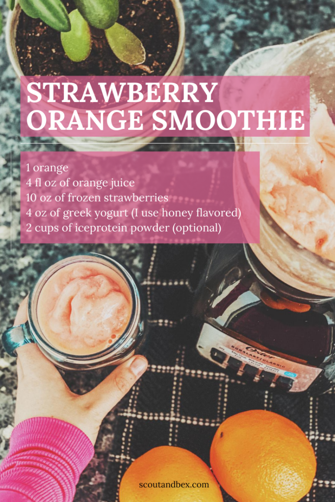 Best Smoothie Recipe by Scout and Bex