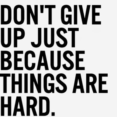 Never Ever Ever, Ever Give Up