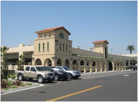 SANTA FE DEPOT TRANSPORTATION CENTER PARKING STRUCTURE SAN BERNARDINO, CALIFORNIA