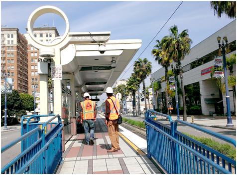 BLUE LINE STATION REFURBISHMENTS – 21 STATIONS LOS ANGELES, CALIFORNIA