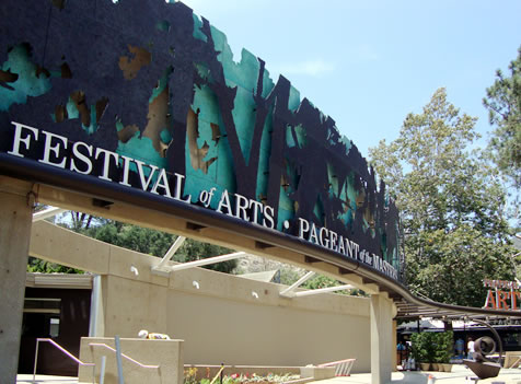 Festival of the Arts Façade and Ground Upgrades