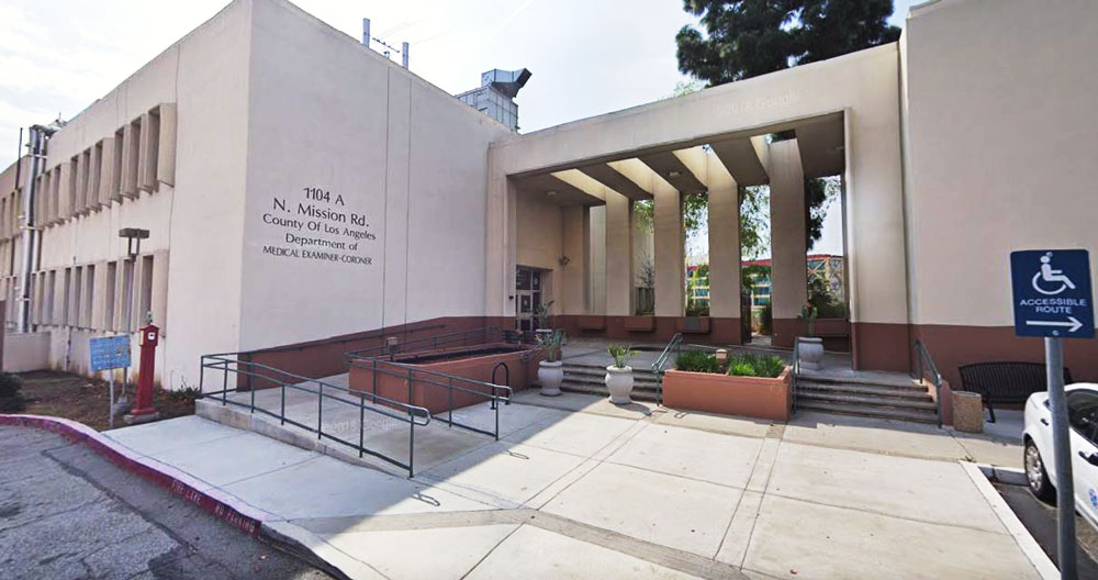 County of Los Angeles Department of Medical Examiner-Coroner Building