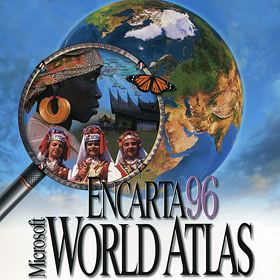 1995-Encarta 96 World Atlas v2