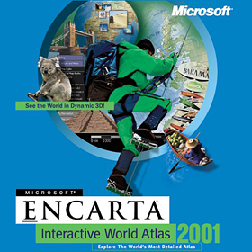 2000-Encarta Interactive World Atlas 2001
