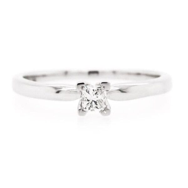 Petite Solitaire Engagement Ring 0.20ct
