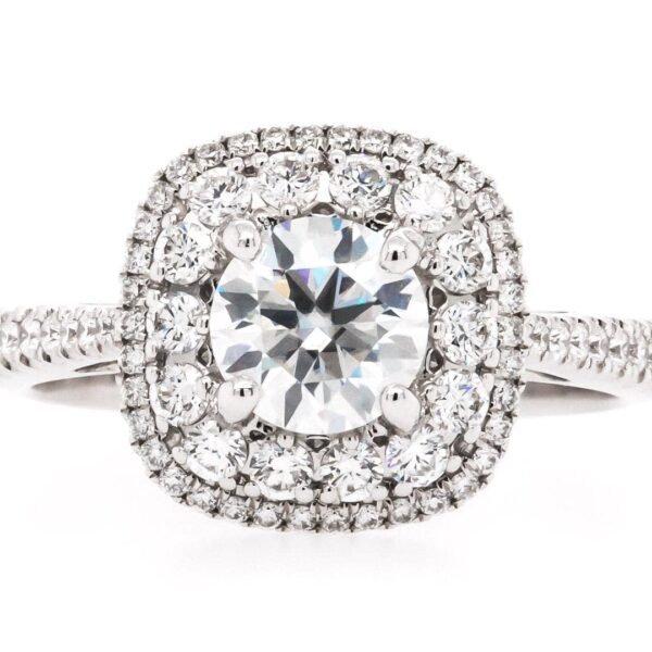 Multi Double Halo Engagement Ring 1.75ct