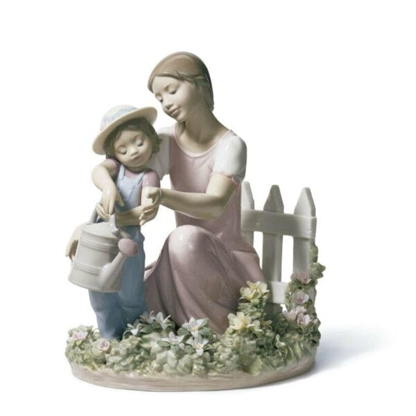 Lessons In The Garden Lladro