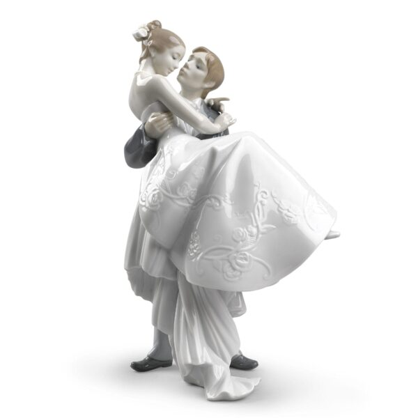 The Happiest Day Couple Figurine Lladro