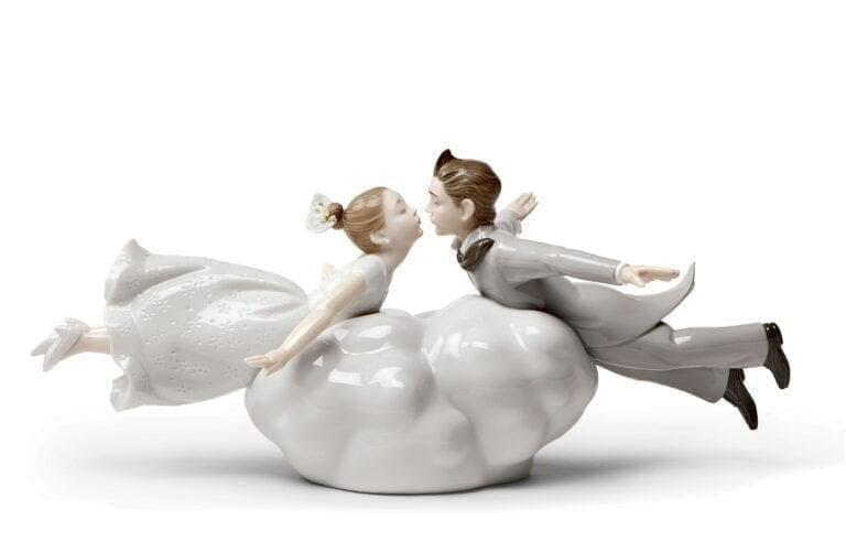 Wedding in the Air Couple Figurine Lladro