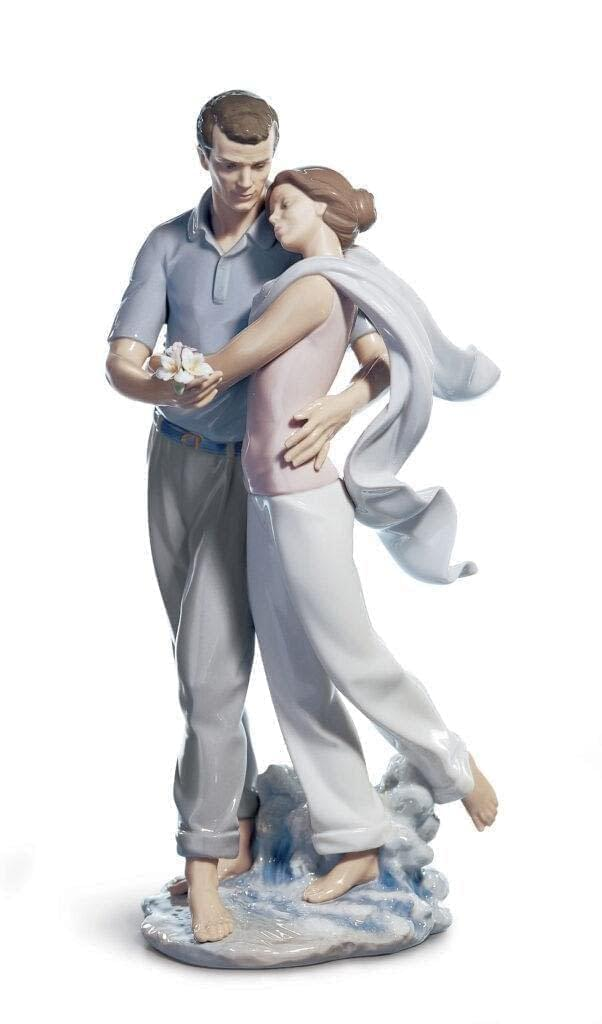 You're Everything to Me Couple Figurine isromantic as a walk along the seashore with the love of your life.