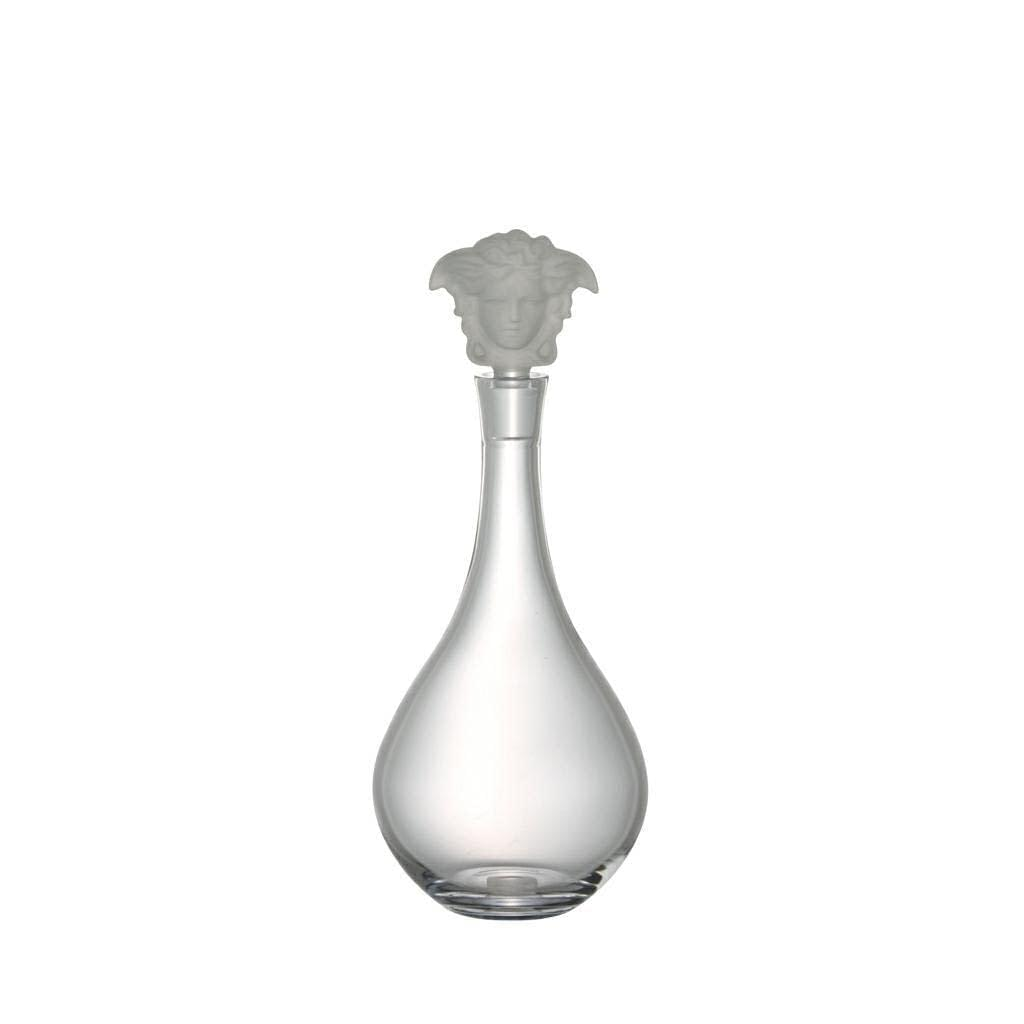 Medusa Lumiere Clear Decanter Versace by Rosenthal