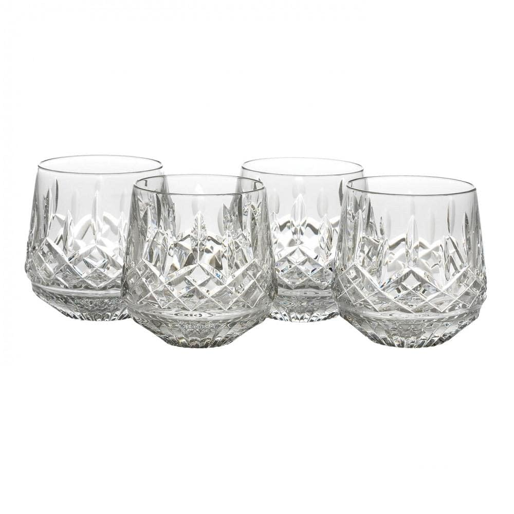 Lismore Crystal Old Fashioned 9oz, Set of 4
