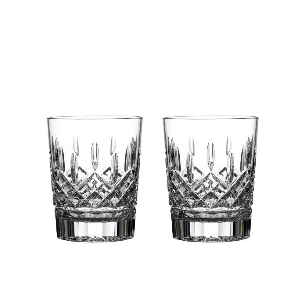 Lismore Double Crystal Old Fashioned, Set of 2