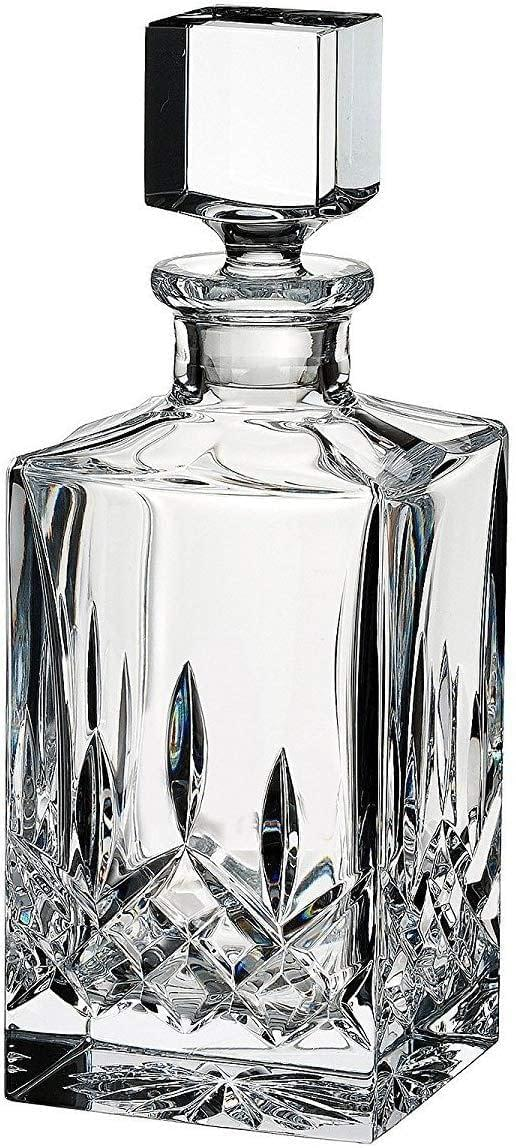 Lismore Crystal Clear Square Decanter