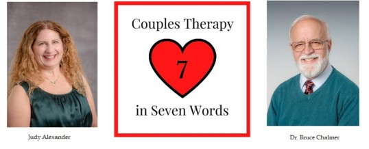 Couples Therapy in Seven Words