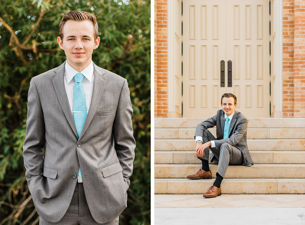 Elder missionary pictures at the Provo Cit