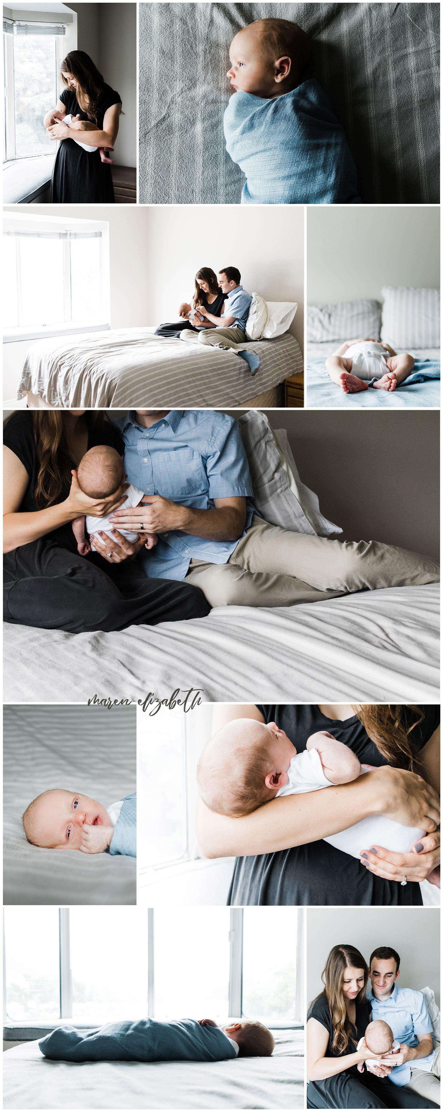 Provo Utah In-Home Session - Newborn