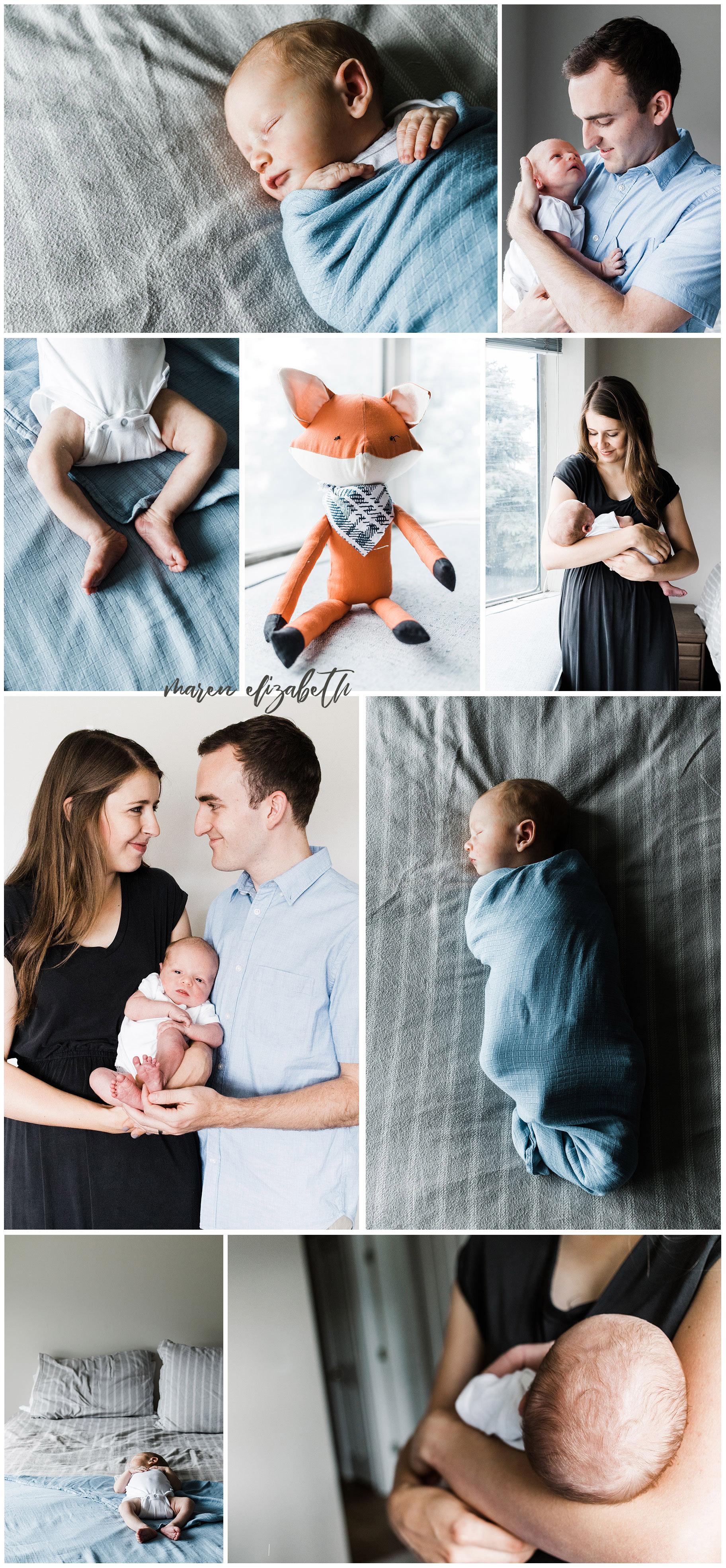 Newborn Session - In-Home Session