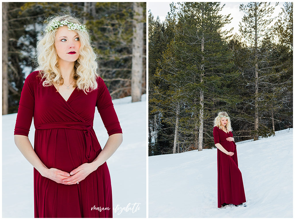 Tibble Fork Maternity Session   Arizona Photographer   It's 100% worth it to get your hair and makeup done professionally.