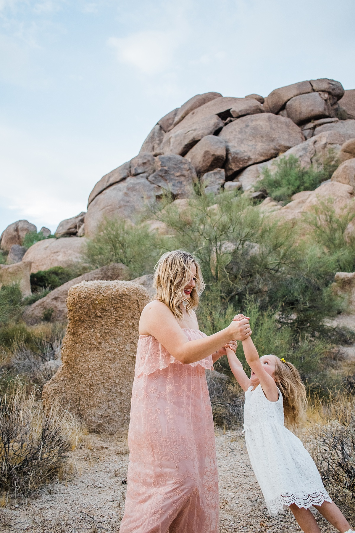 Scottsdale Family Photographer | Cave Creek Mommy & Me Pictures